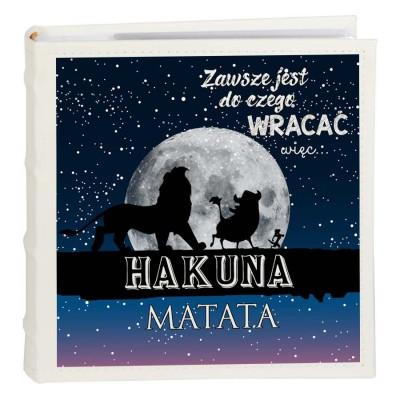 "ALBUM Z NADRUKIEM ""HAKUNA MATATA"""