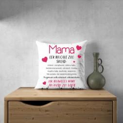 Poduszka prezent dla mamy...