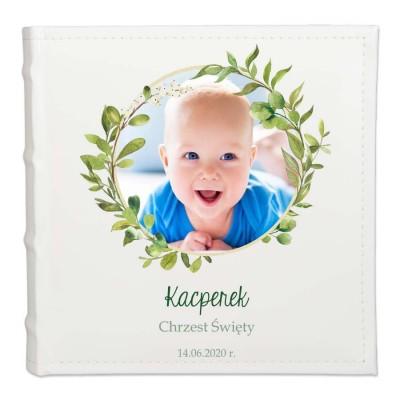 Personalizowany album - prezent na chrzest
