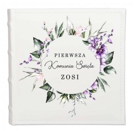 Album pamiątka Pierwsza Komunia Święta